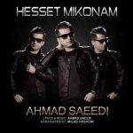 آهنگ جديد احمد سعیدی به نام حست میکنم