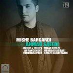 آهنگ جدید احمد سعیدی بنام میشه برگردی